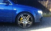 neue Batschal für Audi A4 B7 Limo