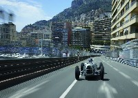 Audi Tradition mit Jacky Ickx in Monte Carlo