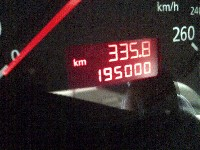 195.000 km Service