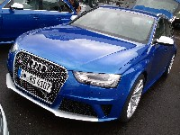 Audi RS4 B8 / Test- und Journalistentage am Red Bull Ring 2012