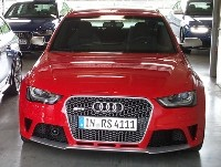 Audi RS4 B8 - Video vom Red Bull Ring 2012