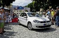 Volkswagen dominiert die Silvretta E-Auto Rallye