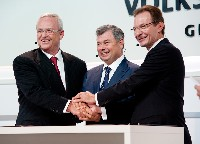 Volkswagen Konzern baut eigenes Motorenwerk in Russland