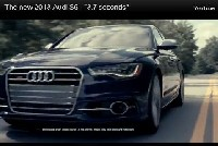 "The new 2013 Audi S6 - ""3.7 seconds"""
