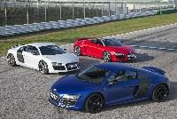 die neuesten Videos vom Audi R8 V10 + V10 plus + Spyder