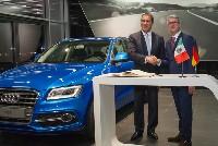Audi bekräftigt Entwicklungsziele in Amerika mit neuem Werk in Mexiko