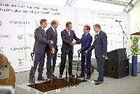 Grundstein für neues Motorenwerk in Russland