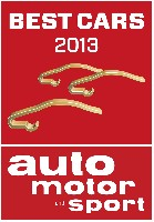 Die besten Autos 2013
