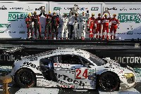 Doppelsieg für Audi-Kundenteams in Daytona