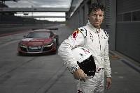 Felix Baumgartner startet im Audi R8 beim 24-Stunden-Rennen auf dem Nürburgring