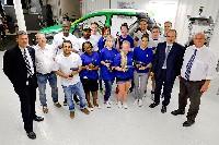Volkswagen Werk Wolfsburg begrüßt die ersten von mehr als 3.000 Ferienarbeitern