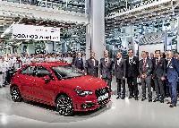 500.000ster Audi A1 in Brüssel vom Band gelaufen