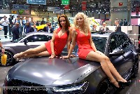 Genf Autosalon 2015 - Car Babes und alle Marken