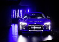 Die Technikstudie Audi R8 e-tron piloted driving