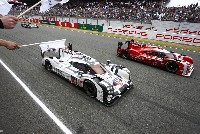 Doppelsieg für den Porsche 919 Hybrid in Le Mans