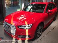 die ersten LIVE Bilder des neuen Audi A4 B9 - Limousine und Avant