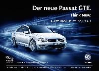Volkswagen lädt IAA-Besucher zur Probefahrt mit neuem Passat GTE ein
