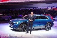 Audi e-tron quattro concept: Elektrischer Fahrspaß ohne Verzicht