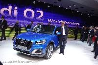 Audi auf dem Genfer Salon 2016 - Start frei für den Audi Q2