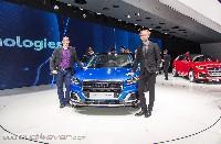 Audi Spezial am 86. internationalen Autosalon in Genf