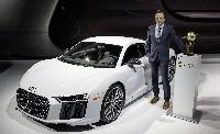 Audi R8 ist World Performance Car 2016
