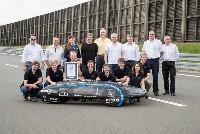 Team TUfast Eco fährt bei Audi zum Guinnessrekord