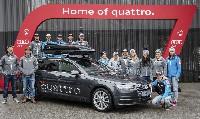 Neue Audi-Modelle für Österreichs Ski-Asse