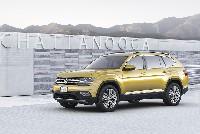 Weltpremiere des Volkswagen Atlas - neuer Siebensitzer-SUV für Amerika