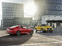 Goldenes Lenkrad für Audi Q2 und Audi A5 Coupe