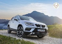 SEAT Ateca gewinnt Großen Österreichischen Automobilpreis 2016