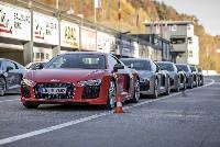 ÖSV Stars bei der Audi track experience