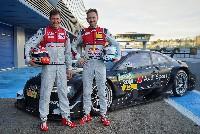 Duval und Rast 2017 im Audi RS 5 DTM