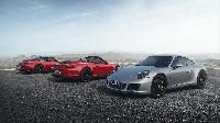Dynamisch, komfortabel und effizient - die neuen Porsche 911 GTS-Modelle