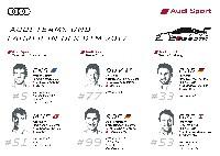 Audi mit drei DTM-Teams auf Titeljagd