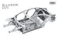 Ausblick auf den neuen Audi A8: Space Frame mit einzigartigem Materialmix