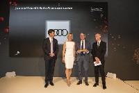 Audi innovationsstärkste Marke beim Automotive Innovations Award 2017