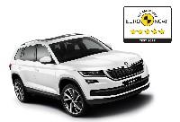 SKODA KODIAQ erzielt 5-Sterne Bestwertung bei Euro NCAP Test