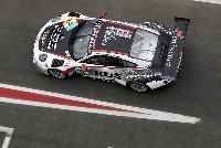 Team75 Bernhard und Herberth Motorsport mit drei Porsche 911 GT3 R beim 24h Rennen in Spa