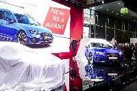 Der neue Audi RS4 B9 Avant - IAA 2017