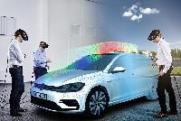 Unterwegs in einem Volkswagen, den es noch gar nicht gibt