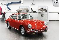 Restauriert und fahrbereit der Porsche 901 Nr. 54