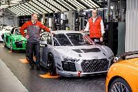50. Audi R8 LMS GT4 in Böllinger Höfen gefertigt