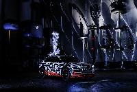 Der Audi e-tron-Prototyp im Faradayäschen Käfig