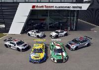 Zehn Jahre Audi Sport customer racing