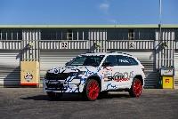 SKODA KODIAQ RS fährt Rekordrunde auf dem Nürburgring