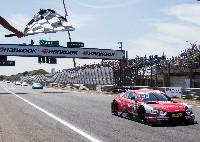 Rene Rast holt ersten Saisonsieg für den Audi RS 5 DTM