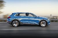 Elektrisierender Fahrspaß: der Audi e-tron