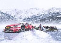 Heiß auf Eis: Audi beim GP Ice Race in Österreich