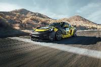 Porsche 718 Cayman GT4 Clubsport mit Biofaser-Karosserieteilen