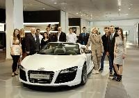 Fit für die berufliche Zukunft bei Audi